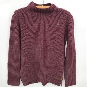Roots Knit Funnel Neck Confetti Sweater
